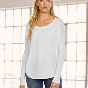 Bella Long Sleeve Flowy 2x1 Tee